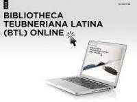 Bibliotheca Teubneriana Latina Online
