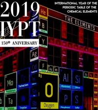 2019 year periodic table